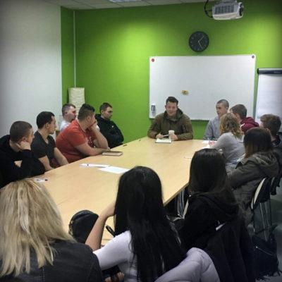 szkolenie służb informacyjnych i porządkowych